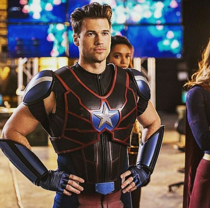 Nick Zano as Nate Heywood/Citizen Steel in DC's Legends of Tomorrow