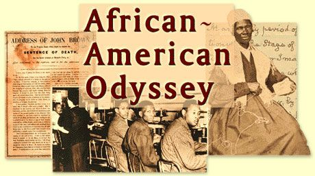 African-American Odyssey: A Quest for Full Citizenship, showcases LC collection of materials related to African-American history--- important and rare books, government documents, manuscripts, maps, musical scores, plays, films, and recordings.