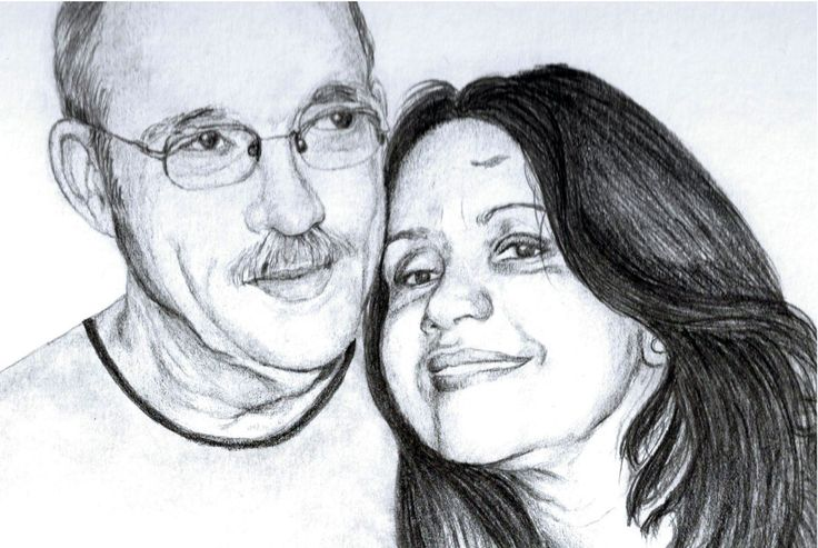 Custom Made Portraits, Custom drawing, Custom portrait, Personalized Portraits, Portrait, Hand drawn portrait, Custom portrait drawing by FlaviaTotoli on Etsy