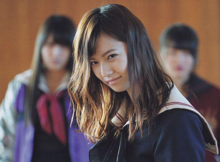 Haruka Shimazaki in dorama Majisuka Gakuen 4 #島崎遥香 #AKB48 #マジすか学園4