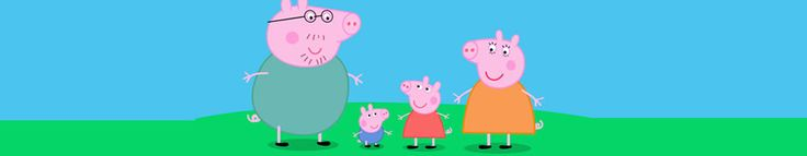 peppa pig pictures logo  | Peppa Pig Logo Peppa Pig S Family House Daddy Pig Reading The Pictures ...