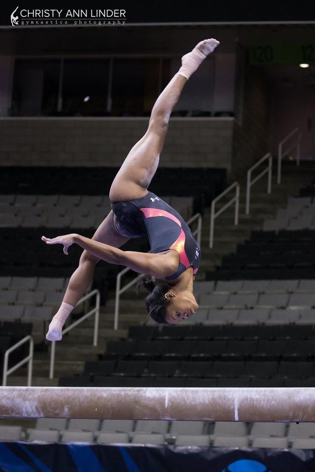 Gabby Douglas (Buckeye) Podium Training for the 2016 Olympic Trials (x)