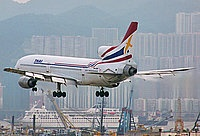 Orient Thai Airlines, Lockheed L-1011-385-1 TriStar 1, Hong Kong - Kai Tak International, China - Hong Kong, November 1997, HS-LTB,