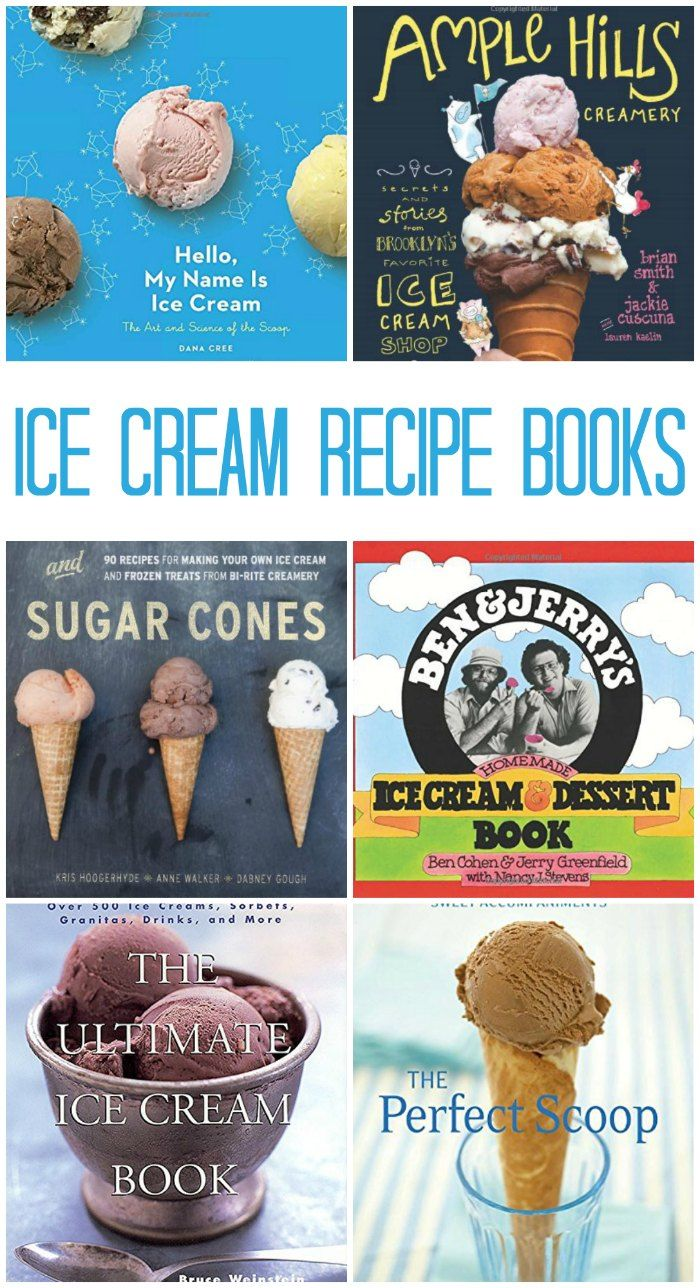Bestselling Ice Cream Recipe Books