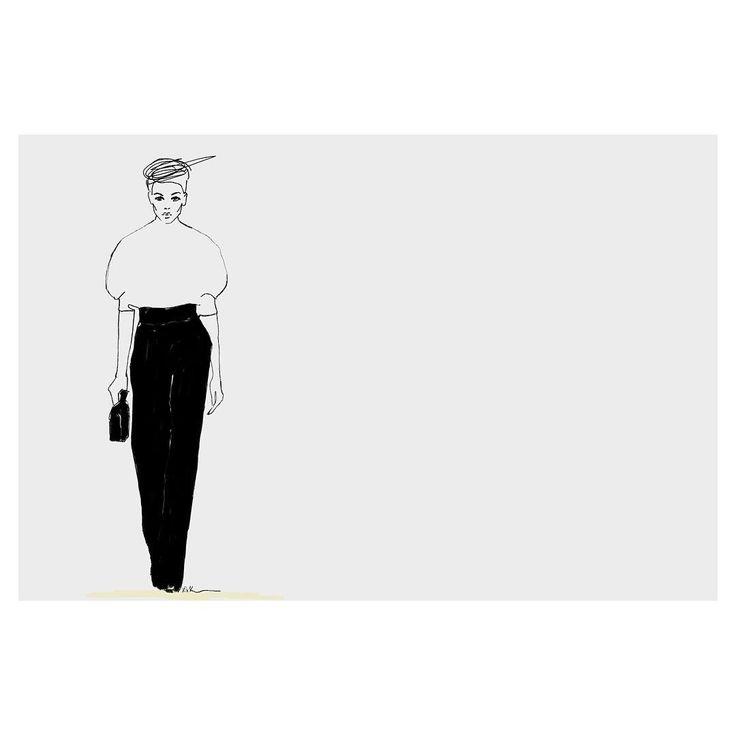 #fashionillustration #sketch   Abena Kissiedu