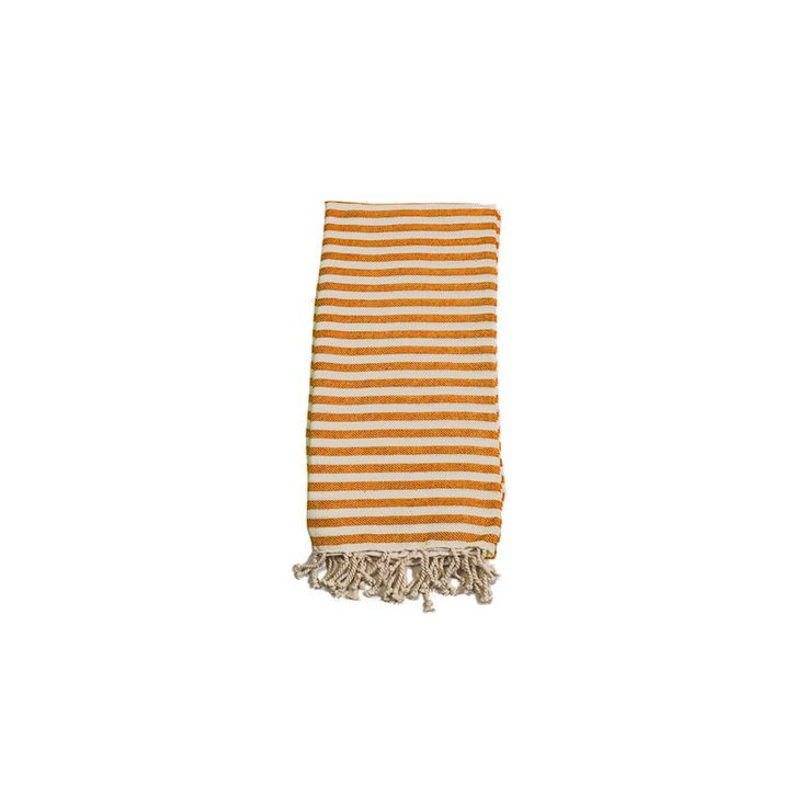 Mediterranean Tangerine Cotton Turkish Towel