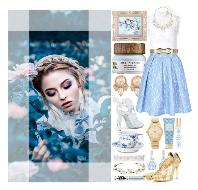 DAISY by counterkitty on Polyvore featuring polyvore, fashion, style, Yigal Azrouël, Agent Provocateur, Jane Norman, Oscar de la Renta, Aquazzura, Michael Kors, Carolee, Dorothy Perkins, Marni, Cult Gaia, Lime Crime, Tory Burch, Vera Bradley, Royal Copenhagen, clothing, Spring, white, floral, Blue and Daisy
