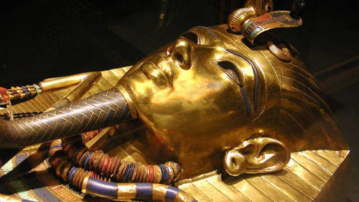 Hallan compartimentos ocultos en la tumba de Tutankamón  proZesa egipto historia investigacion