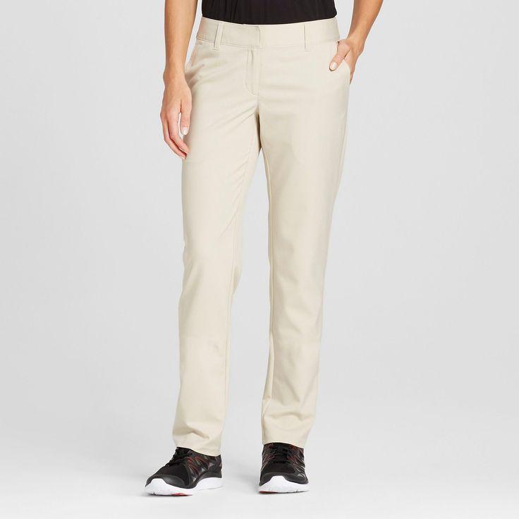 Women's Golf Pants - C9 Champion Khaki (Green) 16 #GolfPants