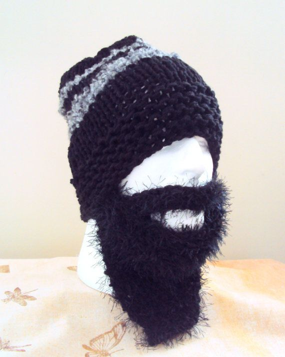 how to make a beanie beard