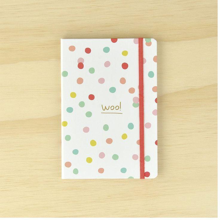Hardcover Journal - Woo!