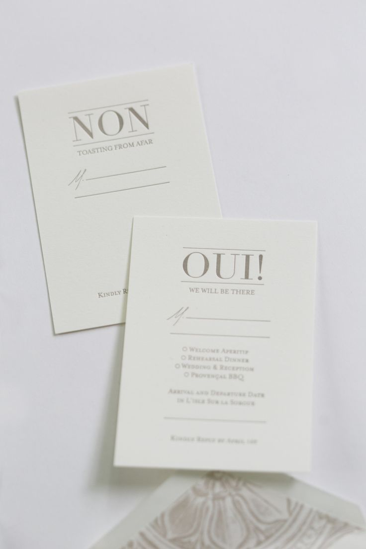 Yonder Design | Reply Cards, Wedding Invitation, French Wedding, Provence Wedding, Wedding Inspiration, Neutral Wedding, Classic Wedding, Modern Wedding