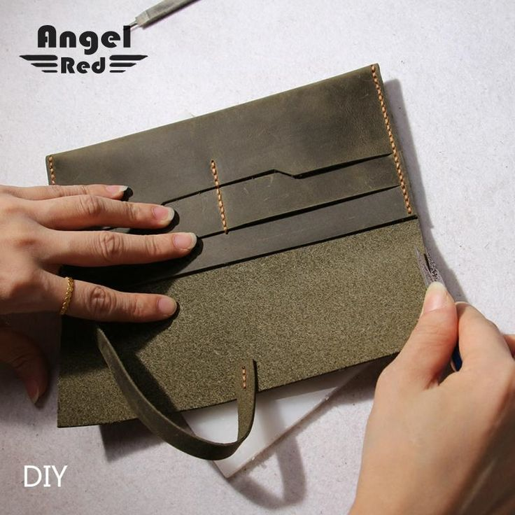 22.75$  Watch here - http://alidl9.shopchina.info/go.php?t=32785778439 - Leather Wallet Female Wallets Diy Material Package Simple Only Handmade Suture Slim Genuine Leather Wallet Purse Money For Love 22.75$ #magazine