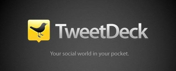 Twitter zabija niektóre funkcje oraz wydania TweeDecka. Nie ma nad czym płakać, oby tylko rzeczywiście programiści skupili się na tym nad czym ponoć tak intensywnie pracują. http://www.spidersweb.pl/2013/03/twitter-porzuca-mobilnego-tweetdecka.html