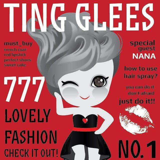 표지모델 츄~ Cover girl, Chu . #tingglees #tingglee #chu #covergirl #fashion #magazine #red #blackandwhite #model #character #design #팅글리 #츄 #패션 #표지모델 #모델 #흑백 #캐릭터 #디자인