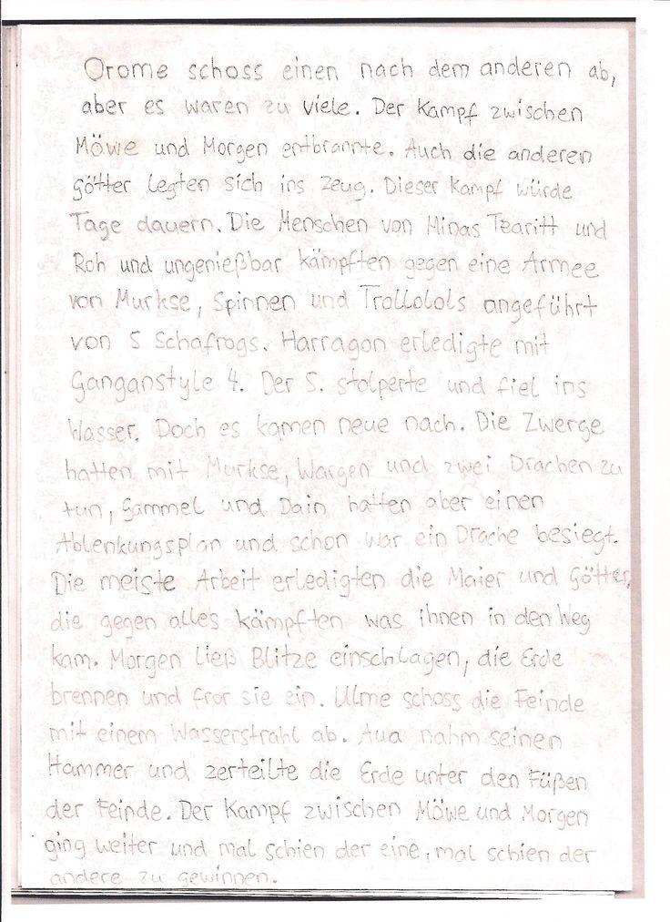 Beschreibung der Kampfhandlungen.