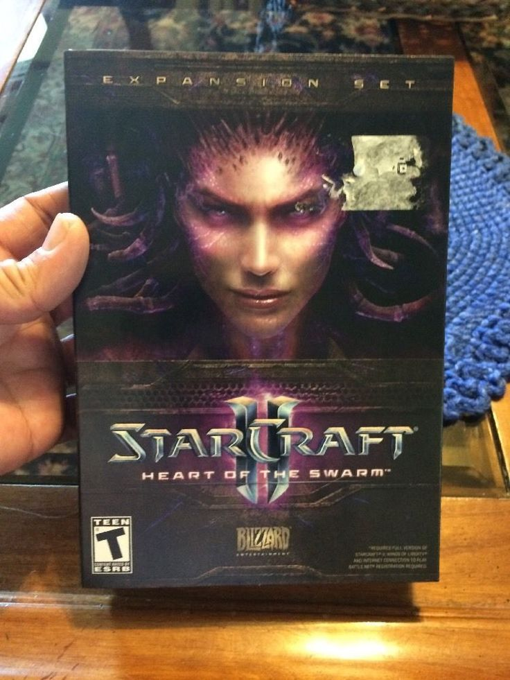 Starcraft 2 II Heart of The Swarm Expansion Set for Windows Mac | eBay