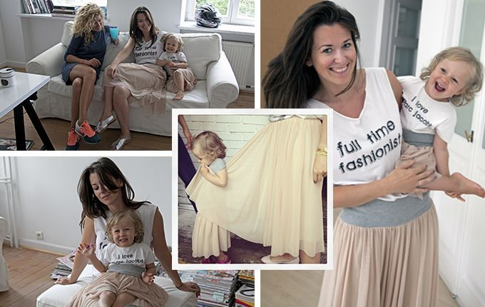 Fashion My Love - t-shirts with catchwords and ballerina skirts for mums and their daughters / photo: Modest Myśliwski / rostyleandlife.com