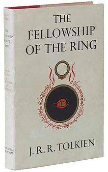 Fellowship of the Ring ... Book of the Lord of the Rings Trilogy by J. R. R. Tolkien