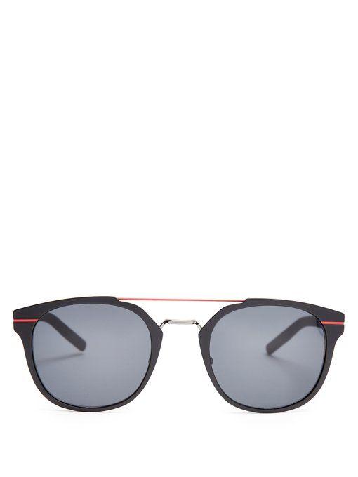 DiorPressure aviator-frame sunglasses Lunettes Dior 1vcGpB5UZo