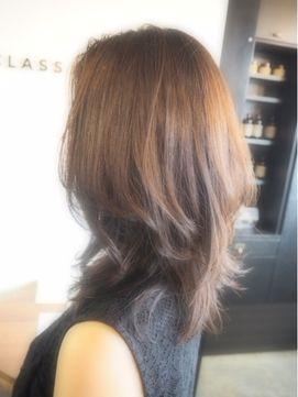 大人の髪型「AFTER」ミディアム×オーガニック白髪染めカラー - 24時間いつでもWEB予約OK!ヘアスタイル10万点以上掲載!お気に入りの髪型、人気のヘアスタイルを探すならKirei Style[キレイスタイル]で。