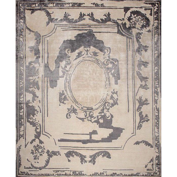 Ковер черно-бежевого цвета Fontenay New Age Smoke #carpet #rug #interior #designer #ковер #дизайн