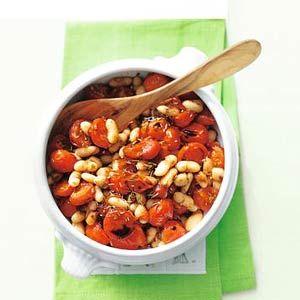 Cherry tomatoes and cannellini beans - Allerhande - Toscaans gerecht fam. Fantoni