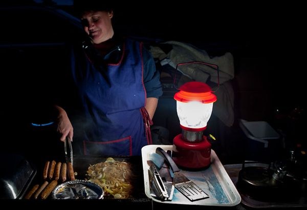 Experience an Aussie style BBQ, cooked by Mary, on a Farmstay tour from Sydney