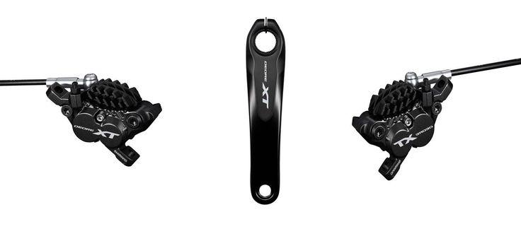 Shimano presenta las bielas Deore XT de 165mm y los frenos de 4 pistones. En busca de dotar al sector E-Bike, Enduro y All Mountain.