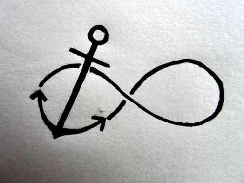 God is our anchor and hope FOREVER - if I ever was to get a tattoo, this would be one at the top of my list,