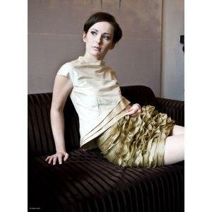 DP Dorota Pietruszka - silk blouse