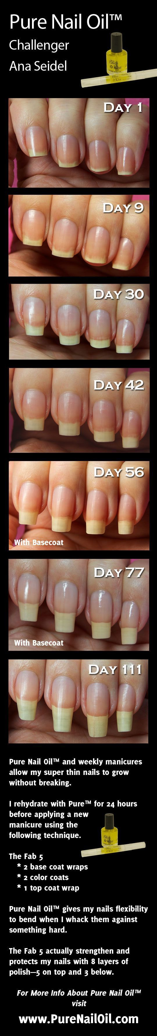 Grow nails long and strong.Hangnails, dry cuticles, and cracked nails.OH MY! I hate them, you hate them. But what's a girl to do? You've tried lotions, creams, ointments and salves. I have too! But as soon as you wash your hands, it's all gone! And you have to start over. Who has time for that? The answer? Nail and cuticle oil. #BlissKiss #Nails #FingerNails #NailOil #CuticleOil #GrowNails