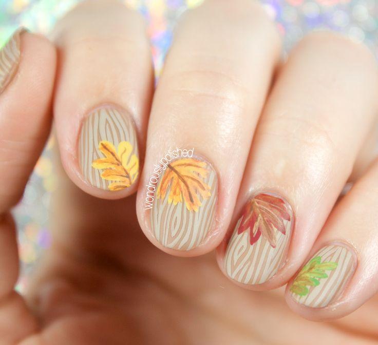 Advanced Nail Art: Wondrously Polished: The Digital Dozen Does Autumn