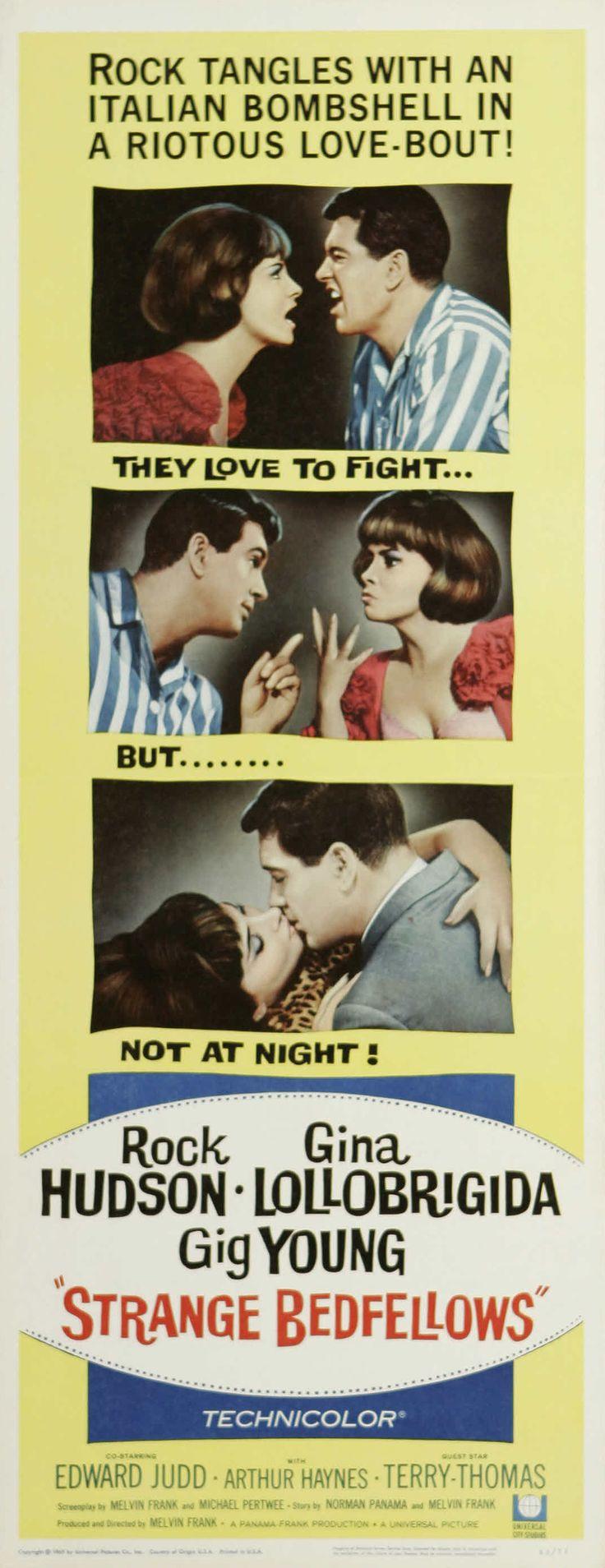 17 beste ideer om nancy kulp på strange bedfellows 1965 stars rock hudson gina lollobrigida gig young