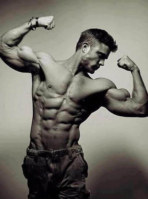 lean and ripped body