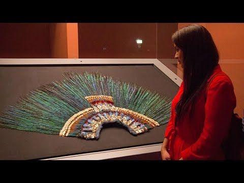 (99) Misterioso objeto ancestral 02, El Penacho de Moctezuma. - YouTube