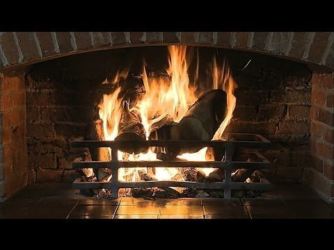 ▶ Virtual Fireplace (HD 1080p) - YouTube - great to show on the LCD projector while the students are making special projects in December.