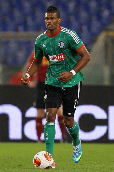 Dossa Junior of Legia Warsaw and Cyprus.