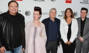 Goodfellas: Paul Sorvino, Debi Mazar, Robert De Niro, Lorraine Bracco and Kevin Cor