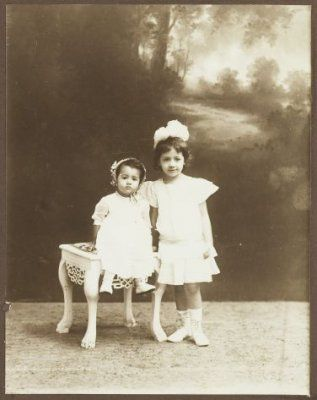 Indo european meisjes, Bandoeng