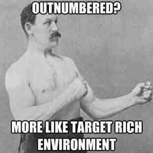 Overly Manly Man  www.Facebook.com/McDojoLife