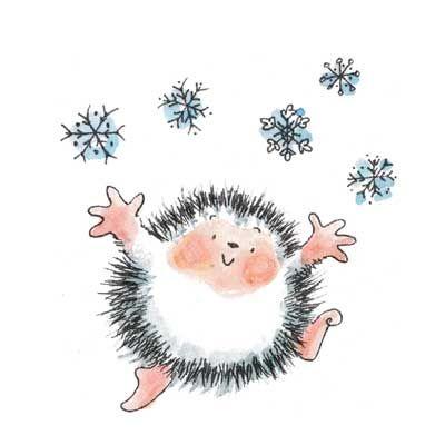 celebrating snow - Penny Black