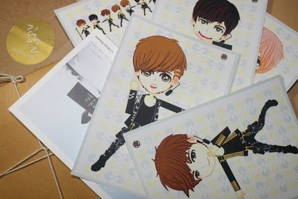 postCARD | fanART *INFINITE* | ready to SALE (ORDER NOW) | created by +Ratna Har (Little Lumut)