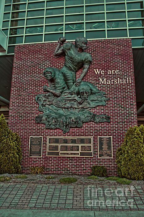 Thundering Herd Memorial, football stadium, Marshall University, WV