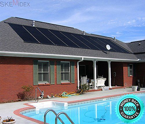 Skemidex 28 X20 Solar Energy Swimming Pool Spas Sun Heater Panel Inground Above Ground And Solar Panels For Solar Pool Solar Pool Heater Solar Pool Heating