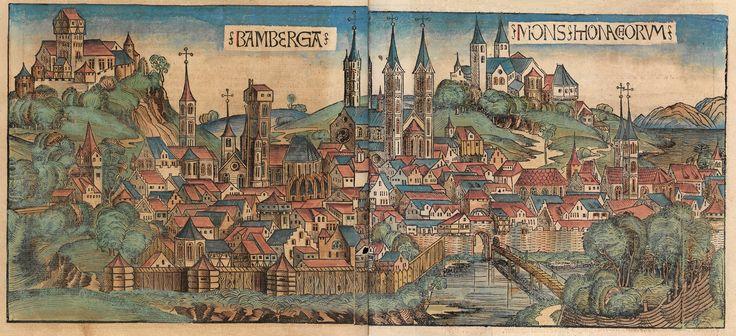 Hartmann Schedel, Schedel'sche Weltchronik, 1493, Bamberg