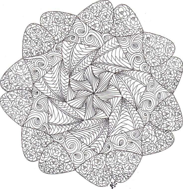 627 best MANDALAS coloring pages images by Shammy Perdon on ...