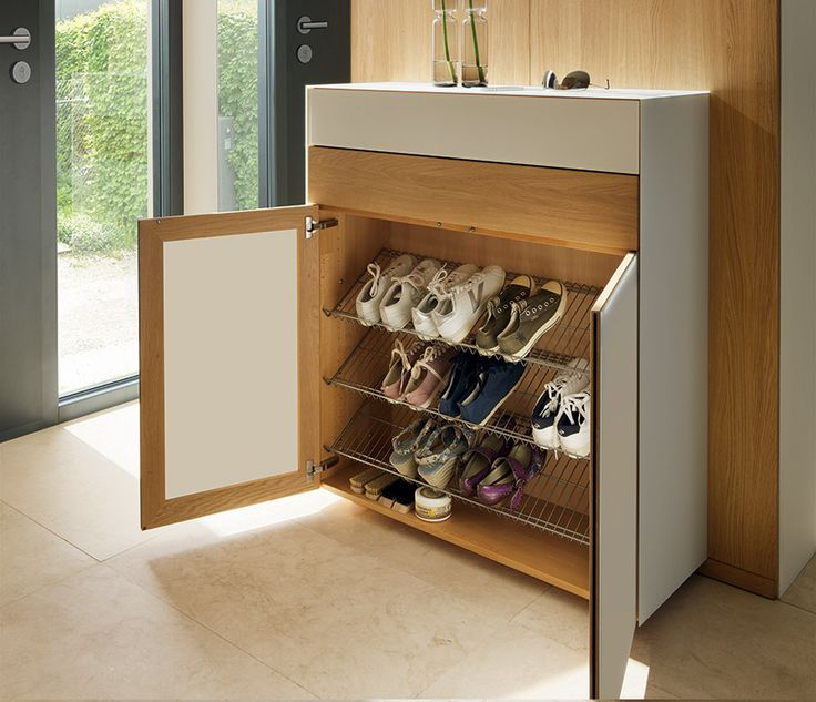 Hallway shoe cabinet / Chosen by Wharfside / designed by Team7