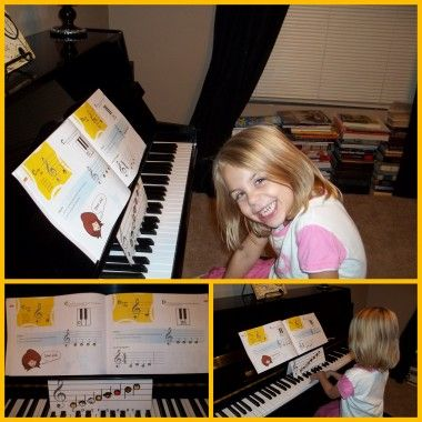 Learning to Play the Piano for the Very Young! Great resource for teaching piano!