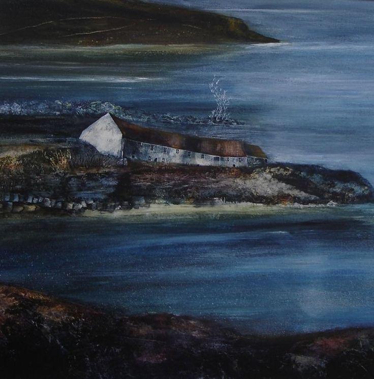 Coastal Dwelling  -  CLIFF HOWE - Artist